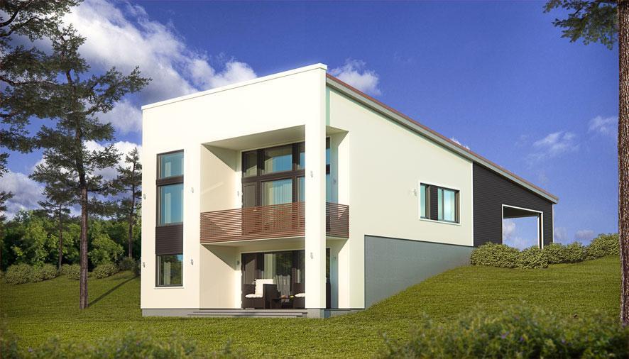Ekovilla-eristeellä lämmin, tiivis ja hengittävä talo
